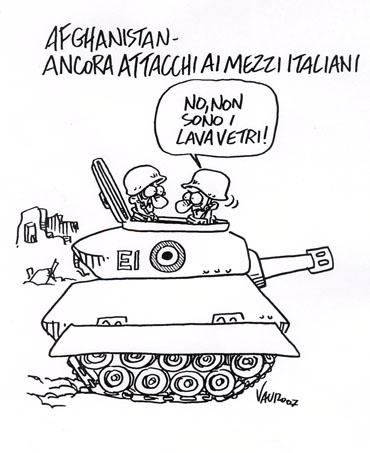 Ancora attacchi ai mezzi italiani