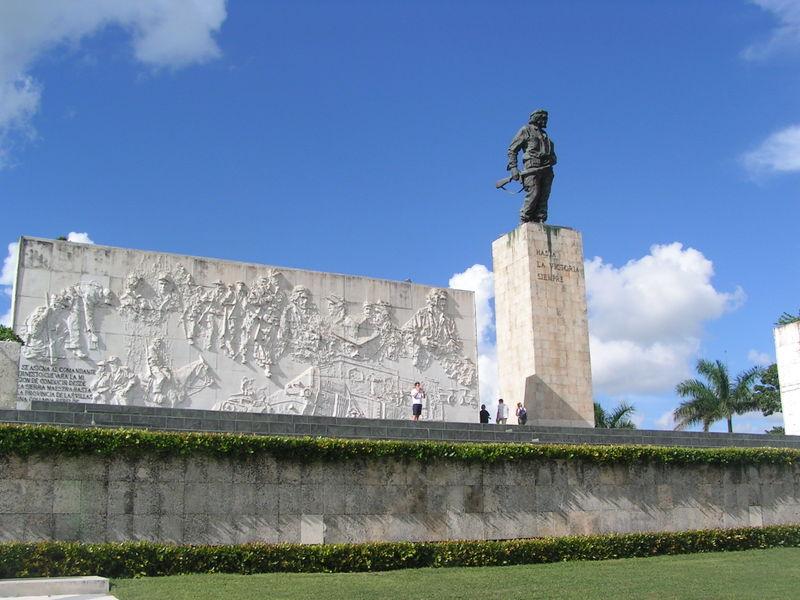 Il monumento di CheGuevara