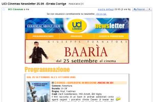 UCI cinema di Sinalunga